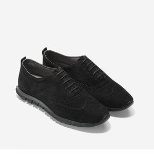 Cole Haan Zerogrand Wingtip Oxford Suede Shoes